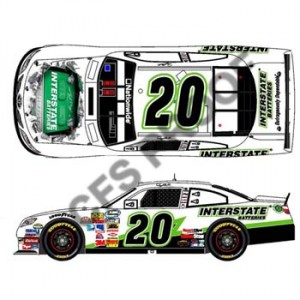 Denny Hamlin Interstate Batteries Toyota