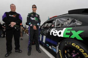 Hamlin at Pocono