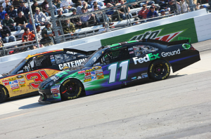 Denny Hamlin at Martinsville Fall 2011