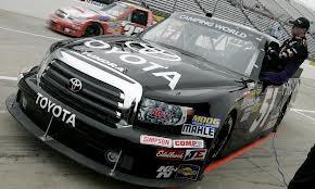 Denny Hamlin 51 truck practice