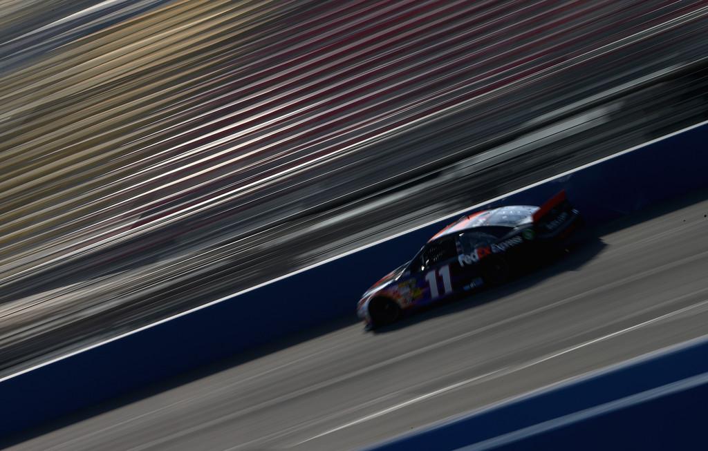 Denny Hamlin Fontana Race 2013