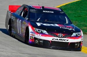 Mark Martin driving the 11 car