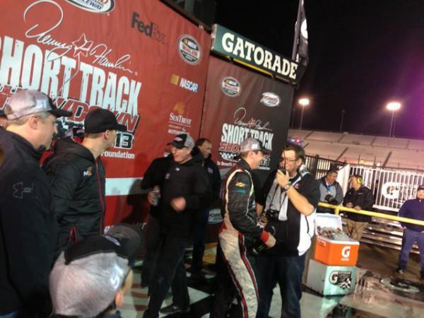 Kyle Busch wins the Denny Hamlin Short Track Showdow